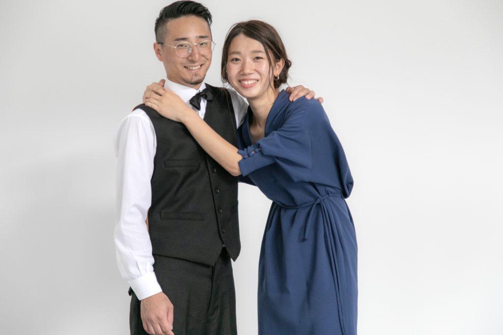 結婚記念日にファミリーフォト撮影